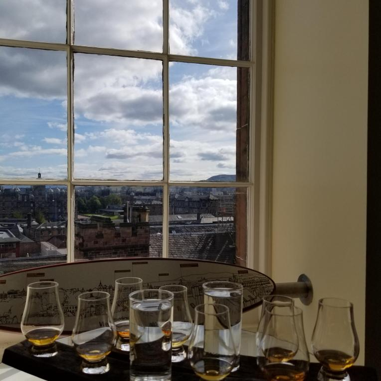 Whisky and a view!